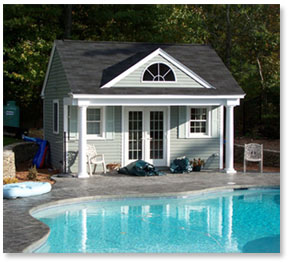 Pool house cabana plans find house plans for Pool guest house floor plans